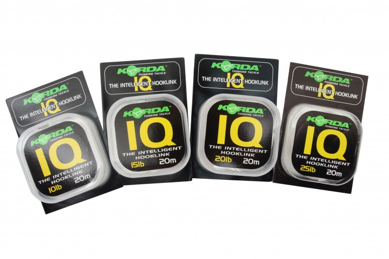 Флюорокарбон Korda IQ The Intelligent Hooklink 20 lb
