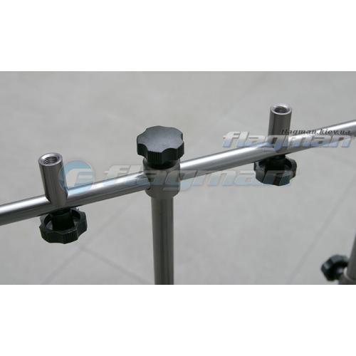 Подставка карповая алюминиевая род-под на 5 удилищ Carp Pro