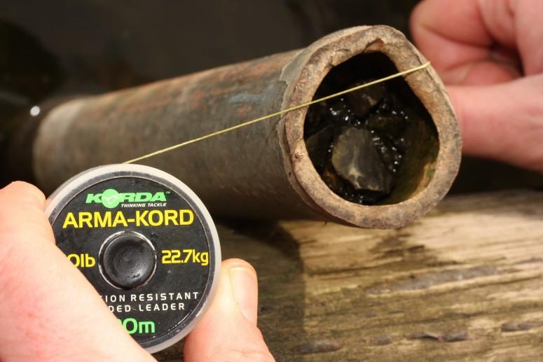 Плетеный лидер Korda Arma-Kord 30 lb 20 м