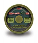 Поводковый материал FOX Snare Super Supple Slow Braid 25м 15lb