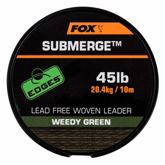 Лидер FOX EDGES Submerge Brown 45 lb 10 м