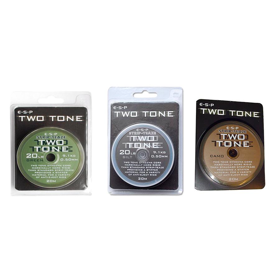 Поводковый материал ESP Two Tone 25 lb Weed