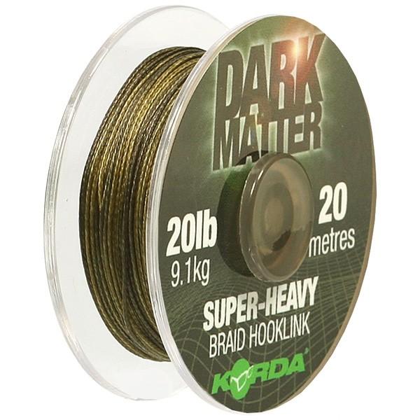Поводковый материал Korda Dark Matter Braid 15 lb 20 м