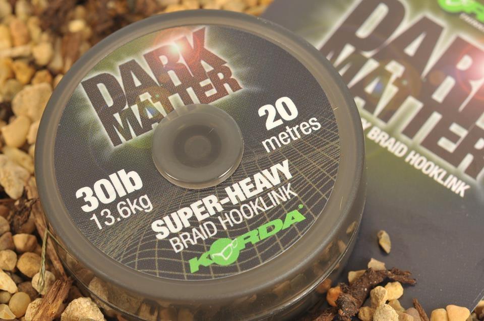 Поводковый материал Korda Dark Matter Braid 30 lb 20 м
