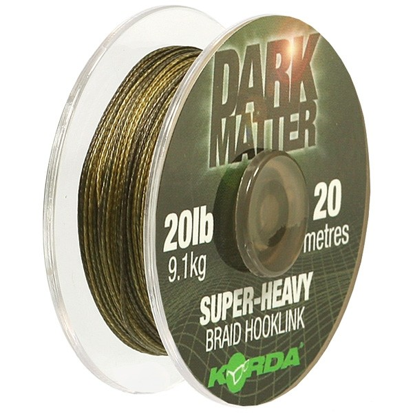 Поводковый материал Korda Dark Matter Braid 20 lb 20 м