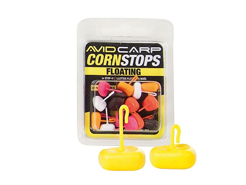 Стопоры для бойлов Avid Carp Corn Stops Mixed Colours L
