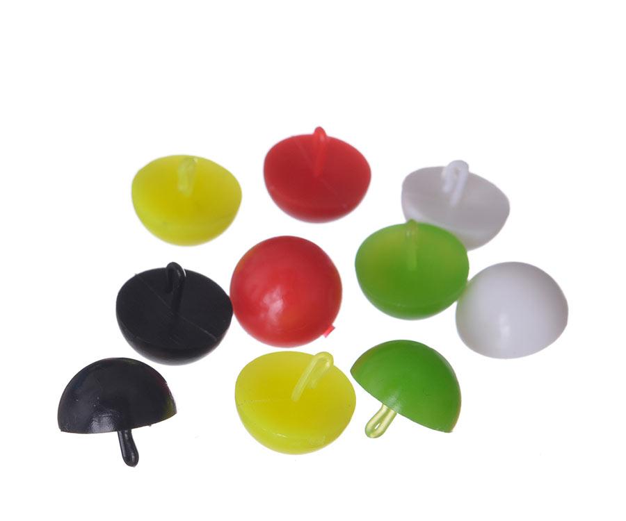 Плавающие стопоры для бойлов Carp Pro Mix Color половинка бойла 10шт