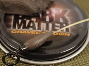 Мягкий свинец Kodra Dark Matter Rig Putty Gravel Brown