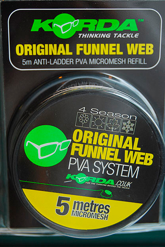 ПВА-туннель на шпуле Korda System Funnel Web Hexmesh 5 м