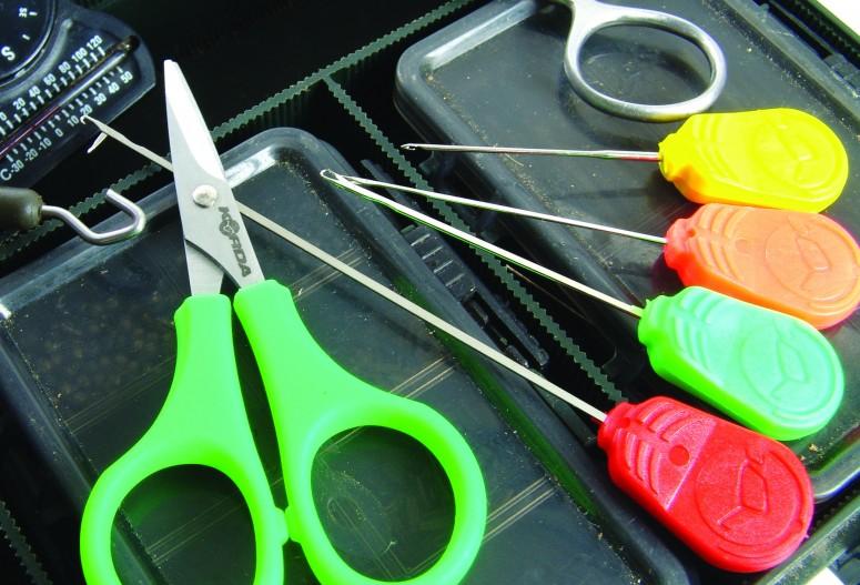 Игла для бойлов Korda Splicing Needle 7 см Orange