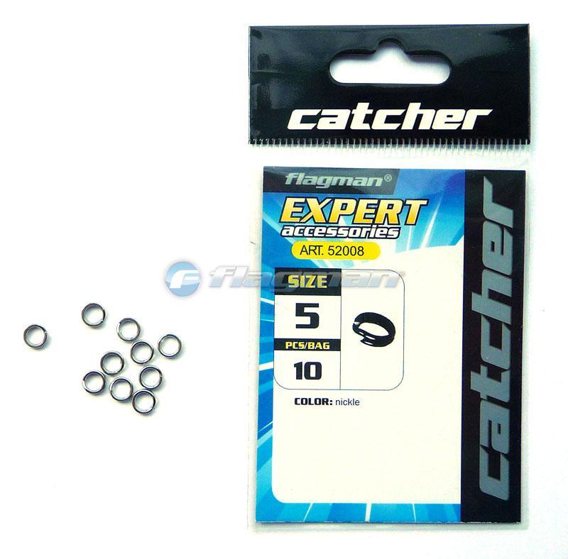Кольца заводные Catcher № 4 (10 шт)