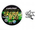 Поводковый материал Catcher Stainless Steel 1x19 (0.30 мм)