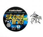 Поводковый материал Catcher Stainless Steel 1x49 (0.36 мм)