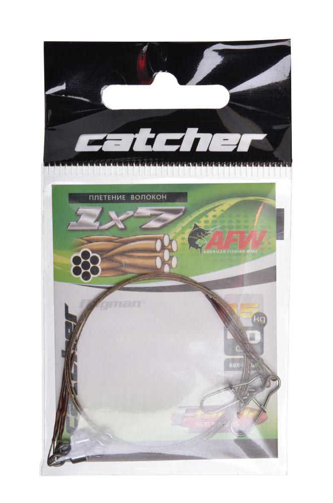 Поводок Catcher 7 вол (15 кг, 40 см) 2шт