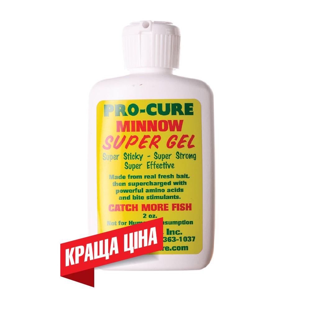 Аттрактант Гель Pro-Cure Minnow Super