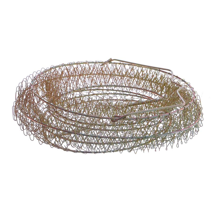 Садок металлический Flagman 25см бронзовый