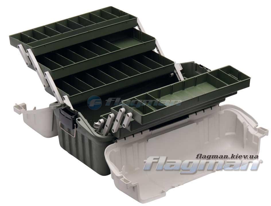 Ящик Flagman пластиковый 6х полочный