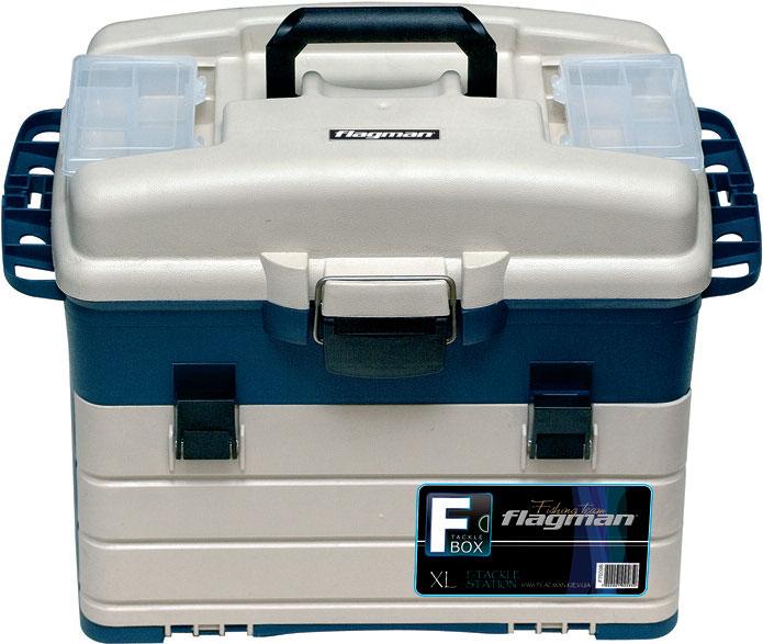 Ящик-станция FLAGMAN средний 440 * 255 * 320мм с коробками