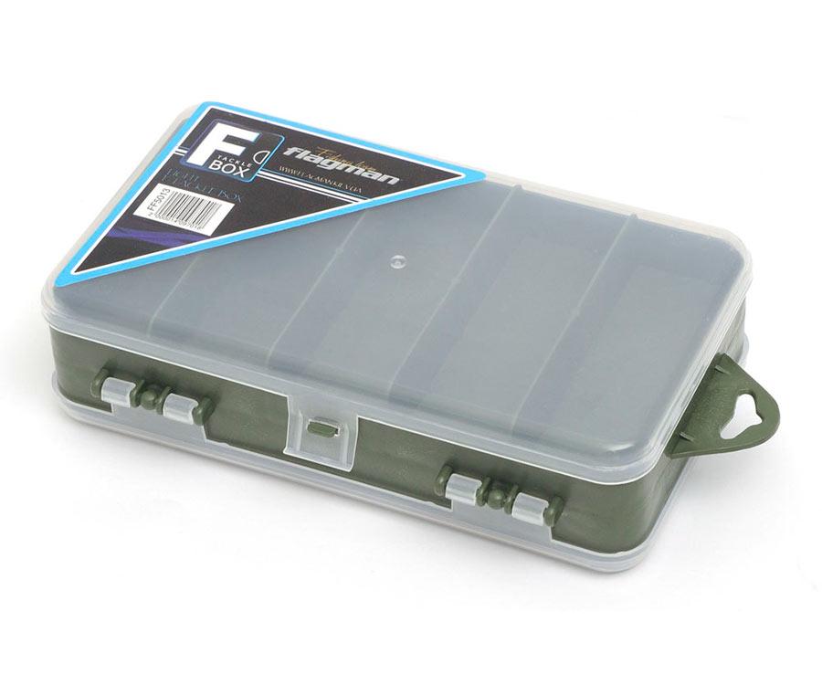 Коробка Flagman пластиковая двусторонняя 180x110x50мм