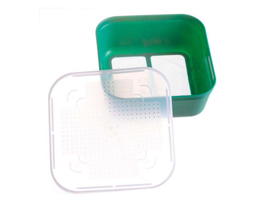 Коробка для наживок Stonfo Scatole Fondo R 1.2л green