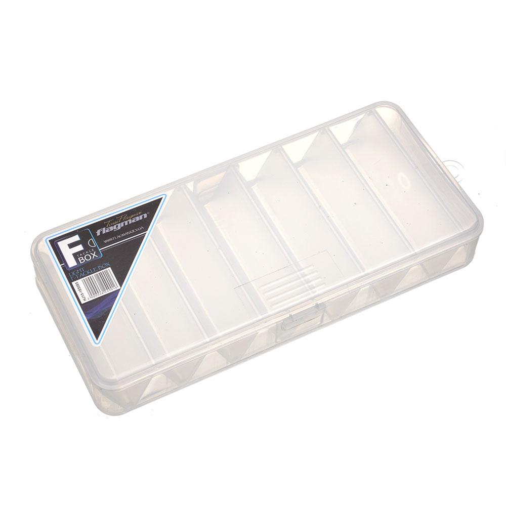 Коробка Flagman пластиковая двустороняя  Plastic Box 185x85x31мм