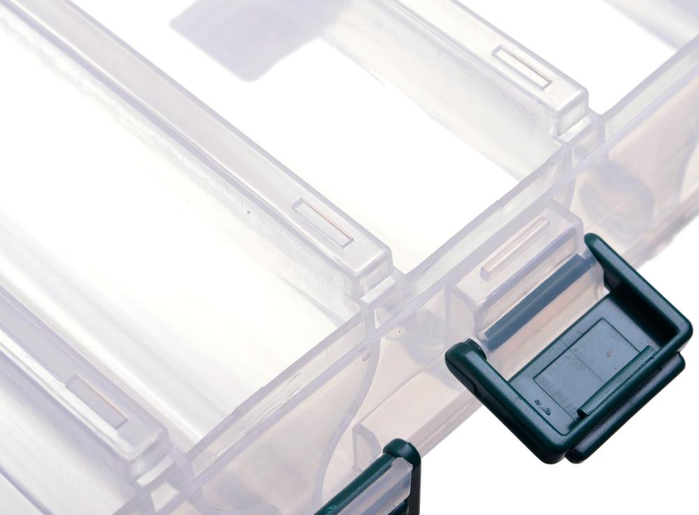 Коробка Flagman пластиковая двухсторонняя 206х170х42мм