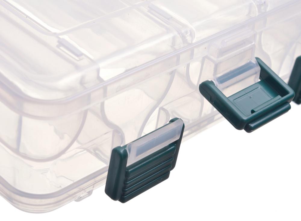 Коробка Flagman пластиковая двусторонняя 206х17х42мм
