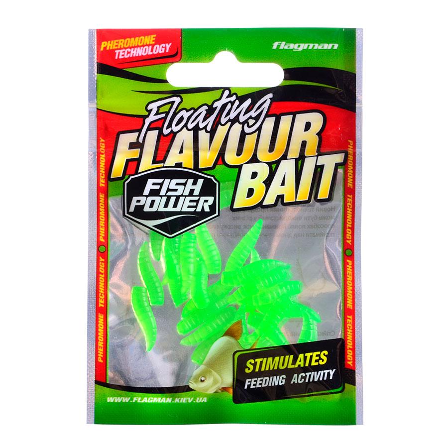 Ароматизированный опарыш Flagman зеленый анис (25шт. в уп)