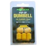 Приманка пластиковая Korda Pop-up Dumbell IB (12мм) - 8шт