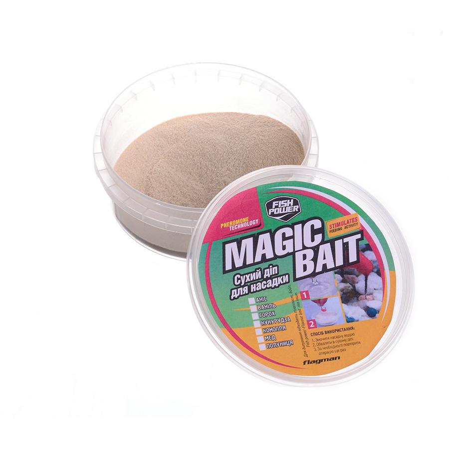 Сухой дип для насадки Flagman Magic Bait - Клубника