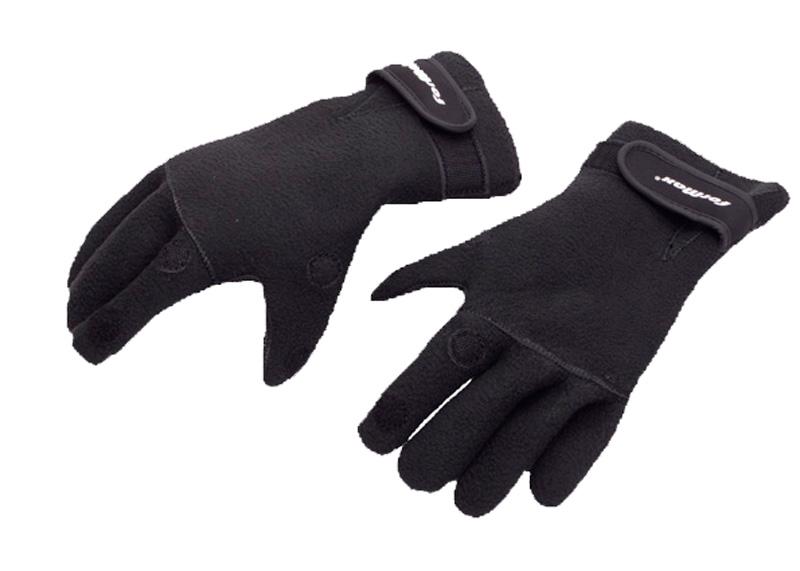 Перчатки неопреновые ForMax верх флис, открыты 2 пальца