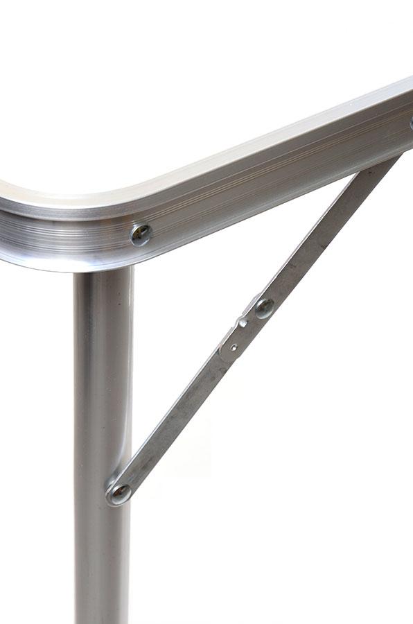 Стол алюминиевый складной с держателем для лампы Forrest 120х60х70см