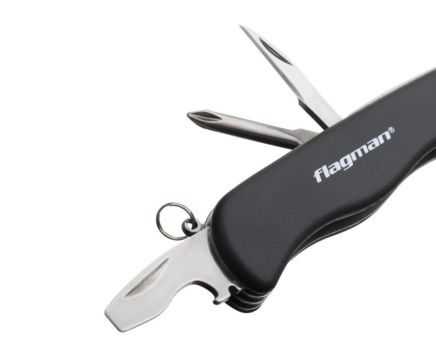 Нож складной Flagman ручка пластик 11/23см