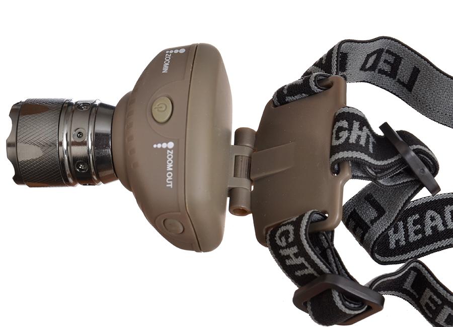 Фонарик налобный Carp Pro 3W Xpe LED 160Lm