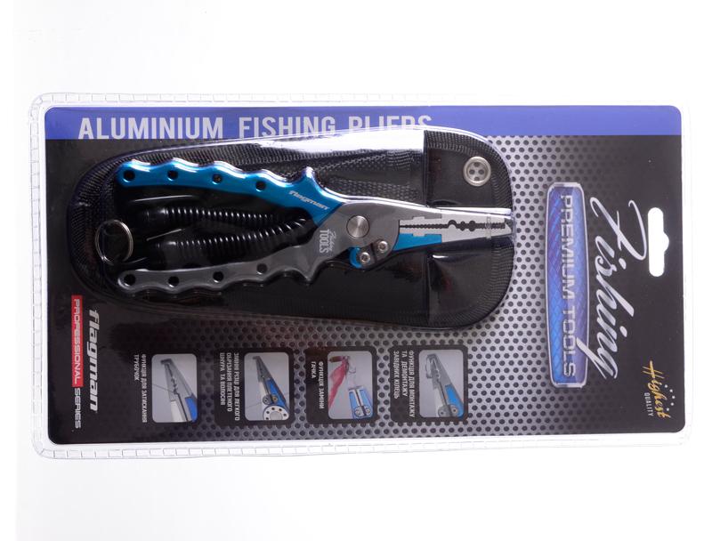 Плоскогубцы Flagman Aluminium Fishing Pliers 17.0см