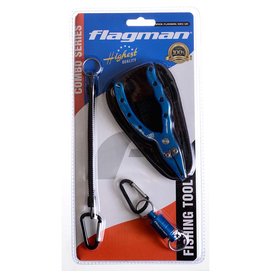 Набор рыболовный Flagman (плоскогубцы+магнит д/подсака)