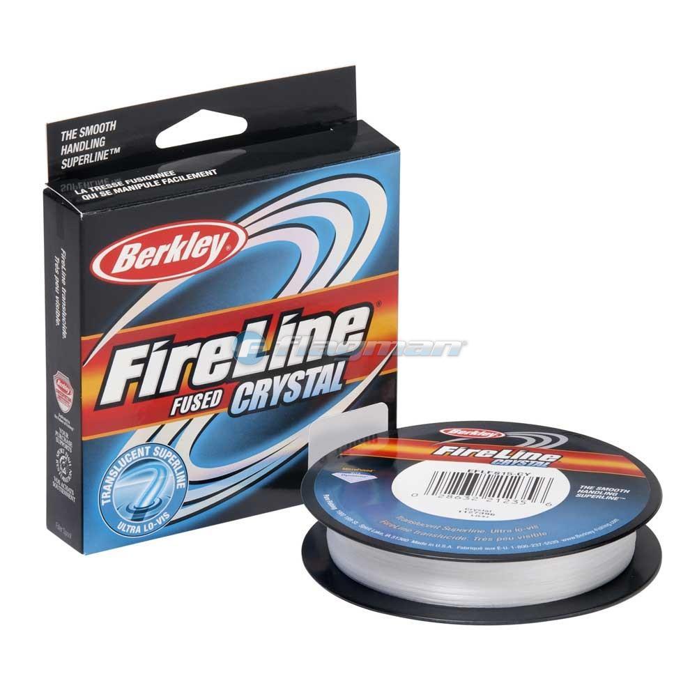 Шнур Berkley FireLine Crystal 0.08мм