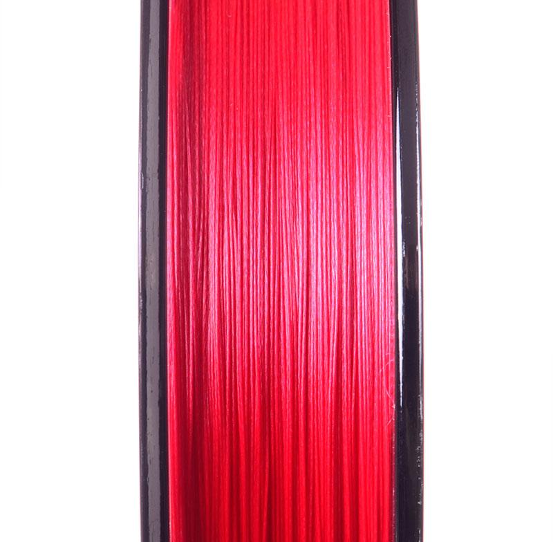 Шнур Momoi Jigline MX8 Red 150м #0.8 0.14мм