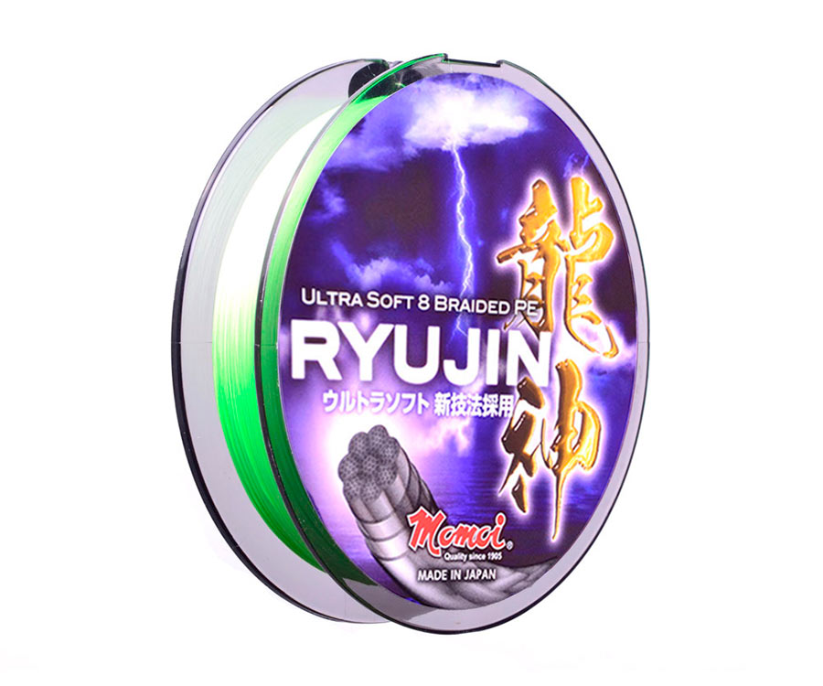 Шнур Momoi Ryujin Lime Green 150м #0.15 0.06мм