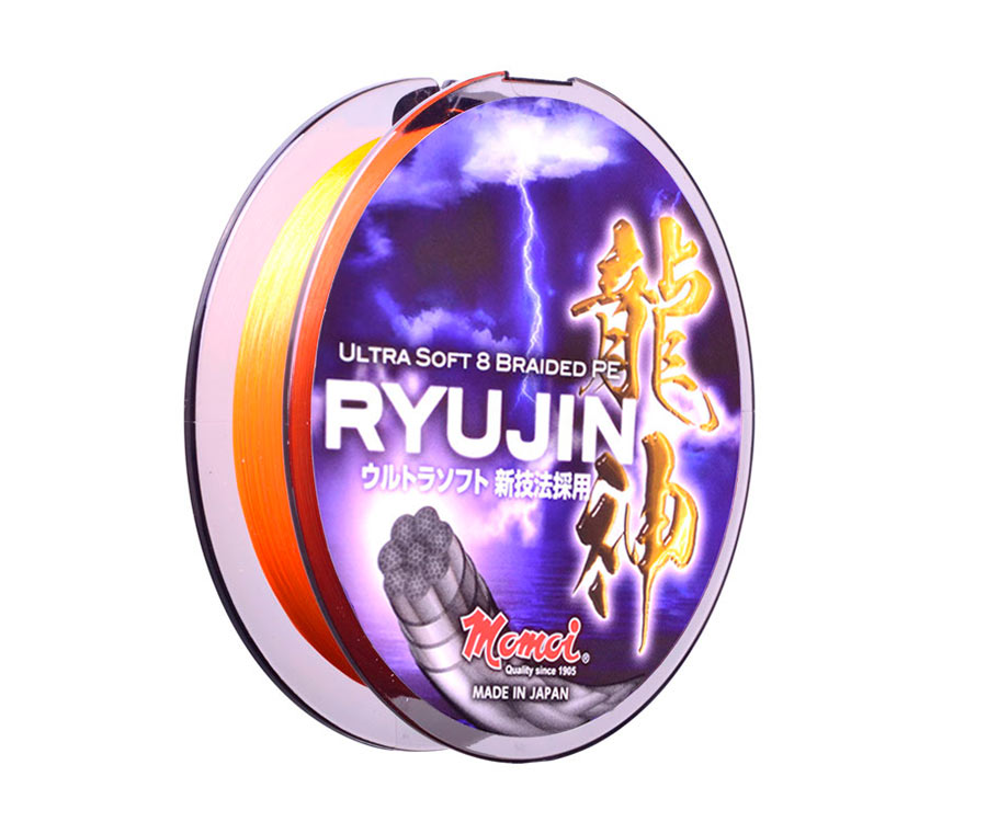 Шнур Momoi Ryujin Orange 150м #0.4 0.10мм