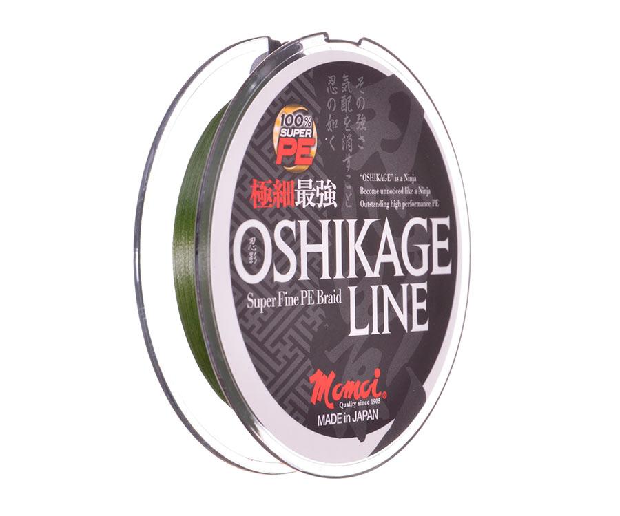 Шнур Momoi Oshikage Moss Green #0.4 0.105мм