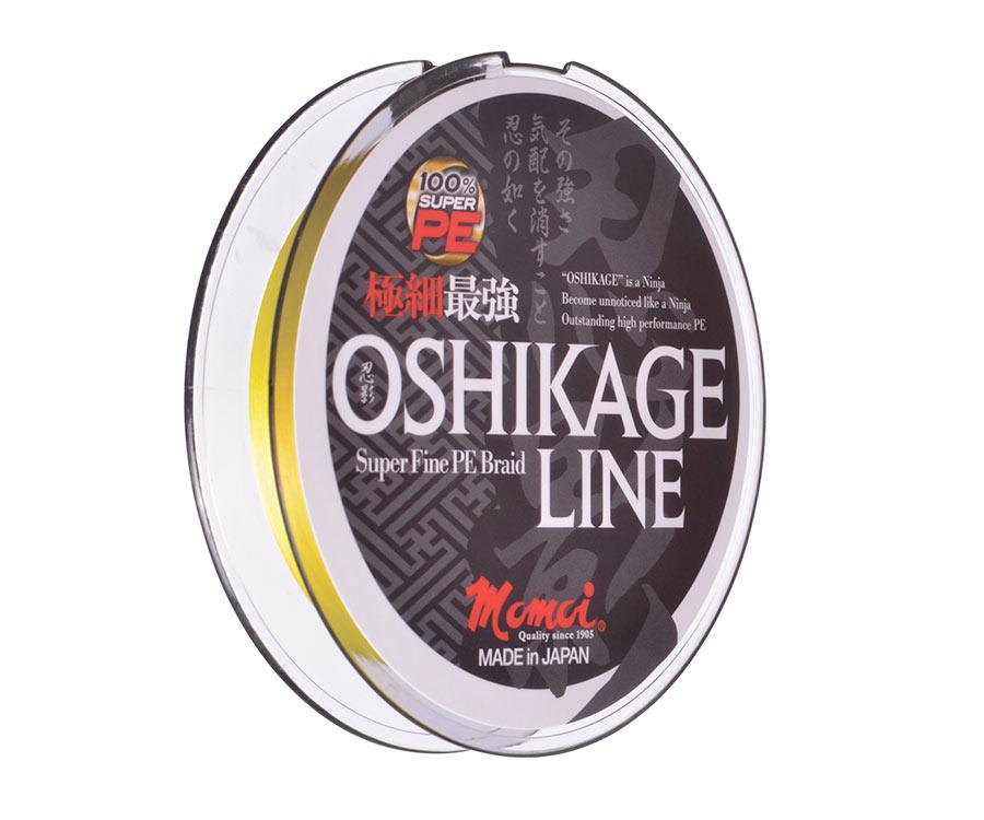 Шнур Momoi Oshikage Fluo Yellow 150м #0.3 0.091мм