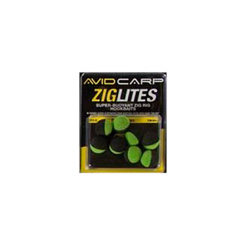 Бойлы искусственные Avid Carp Zig Lities Balls Black/Green 10 мм