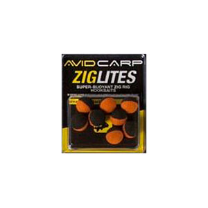 Бойлы искусственные Avid Carp Zig Lities Balls Black/Orange 10 мм