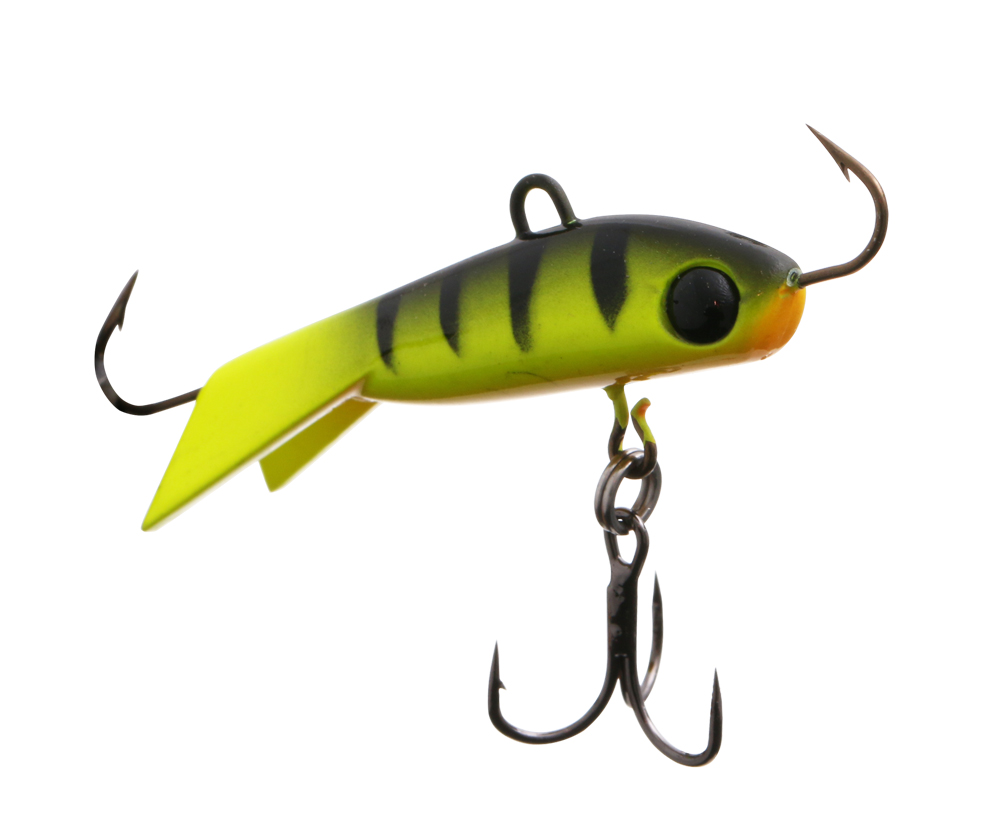 Балансир Flagman Vantage Ice Minnow 6,5см 21г Chartreuse Perch