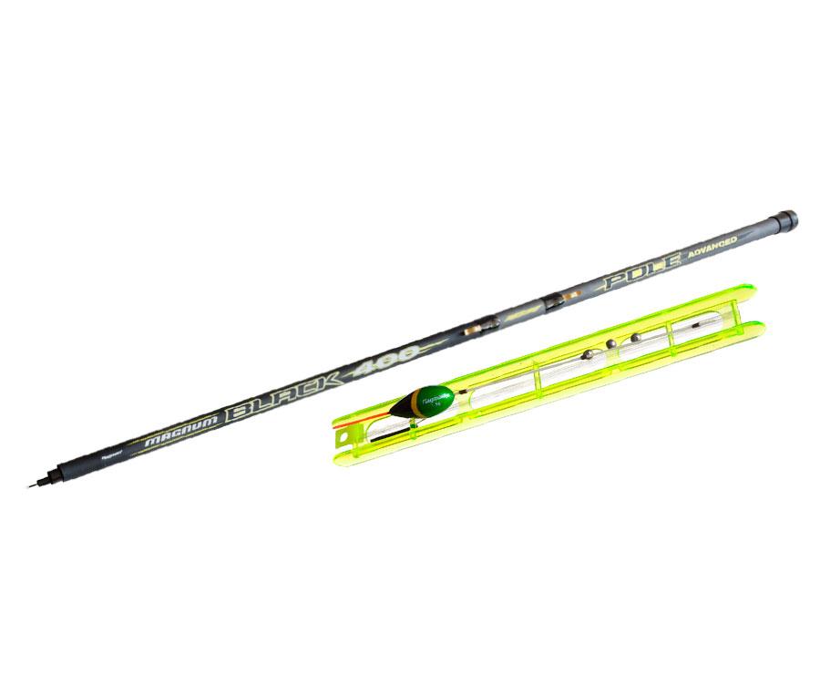 Набор для поплавочной ловли Flagman Pole Magnum Black 4м