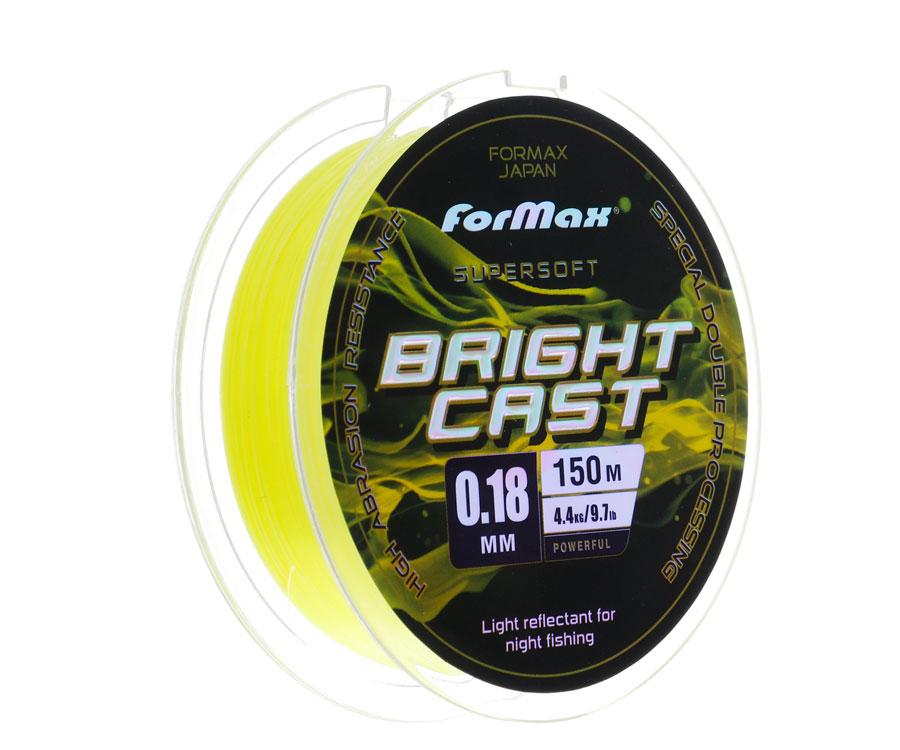 Леска ForMax Bright Cast 150 м, 0,18 мм