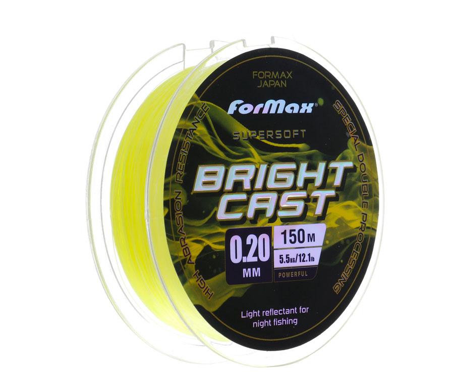 Леска ForMax Bright Cast 150 м, 0,2 мм