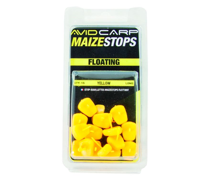Стопоры для бойлов Avid Carp плавающие Maize Yellow Long