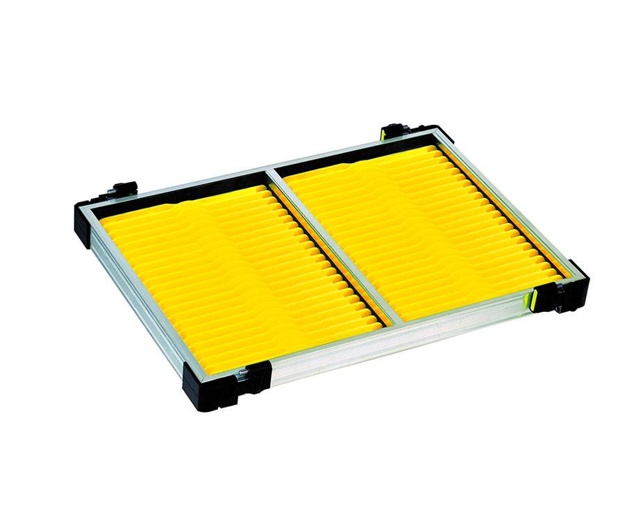 Модуль с мотовилами Rive Casier 30 F2 Anodise Alu Yellow 40